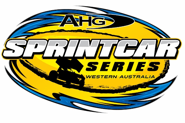 AHG SPRINTCAR SERIES LARGE STICKER